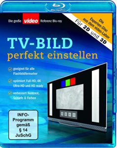TV-Bild perfekt einstellen mit der video Referenz Blu-ray